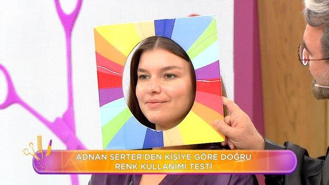 Adnan Serter'den kişiye göre doğru renk kullanımı testi