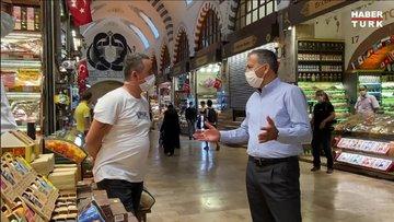 Vali Yerlikaya, Mısır Çarşısı'ndaki denetimlere katıldı