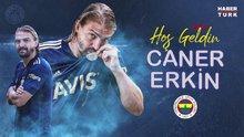 Caner Erkin'den Fenerbahçe'ye 2+1 yıllık imza (Ramiz Dayı'lı tanıtım)