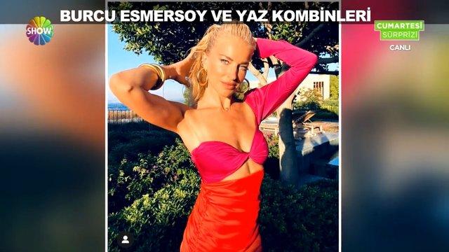 Burcu Esmersoy'un yaz kombinleri!