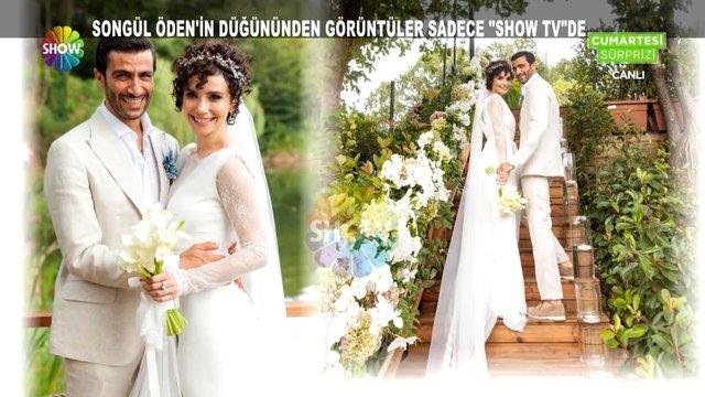 Songül Öden'in masalsı düğünü!