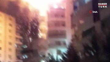 Diyarbakır'da mangal sonrası piknik tüpleri bomba gibi patladı...O anlar kamerada
