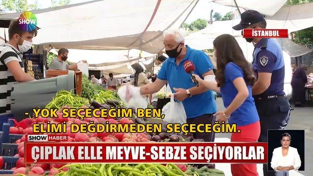 İstanbul'da pazar denetimi!