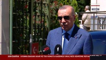 Cumhurbaşkanı Erdoğan: Abu Dabi'deki büyükelçimizi geri çekebiliriz