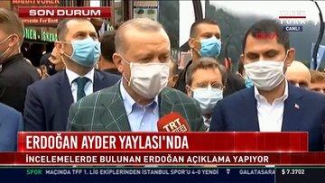 Erdoğan Ayder Yaylası'nda