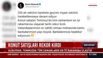 Bakan Albayrak: Konut satışlarında tarihi rekor kırıldı