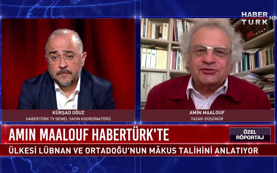 Özel Röportaj - 18 Ağustos 2020 (Beyrutlu yazar ve düşünür Amin Maalouf Habertürk'te)