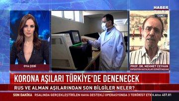 Korona aşıları Türkiye'de de denenecek!