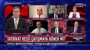 Habertürk Özel - 24 Ağustos 2020 Akdeniz'de tatbikat restleşmesi çatışmaya döner mi?)