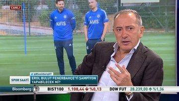 Fatih Altaylı, Bloomberg HT'de Spor Saati programında spor gündemini yorumladı