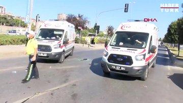 İstanbul - Pendik sahil yolunda kaza 1' i ağır 4 yaralı