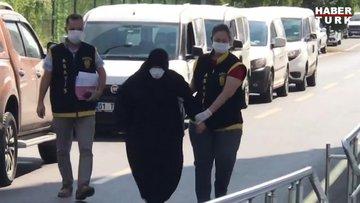 70 yaşındaki hırsızlık şüphelisi kadın tutuklandı