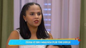 Ebru ve Zeliha Hanımlar arasında ''bardak'' tartışması!