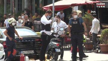 Avcılar'da bir mağazaya giren silahlı kişi polisi alarma geçirdi