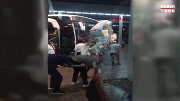 Ankara'daki asker uğurlamalarında koronavirüs tedbirleri unutuldu