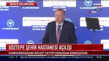 Cumhurbaşkanı Erdoğan: Salgın tedbirlerine uyulmuyor
