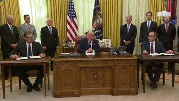 Trump'ın Kudüs açıklaması Vucic'i şaşırttı