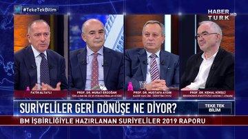 Teke Tek Bilim - 6 Eylül 2020 (Türklerin Suriyelilere bakışı ne, Suriyeliler geri dönüşe ne diyor?)