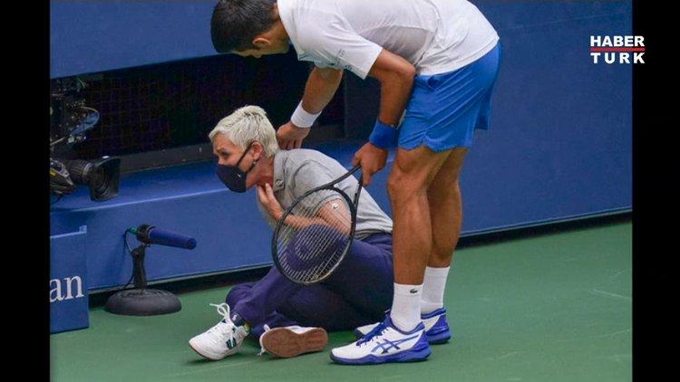 Novak Djokovic, Amerika Açık'tan diskalifiye edildi!