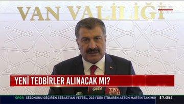 Sağlık Bakanı Fahrettin Koca'dan açıklamalar