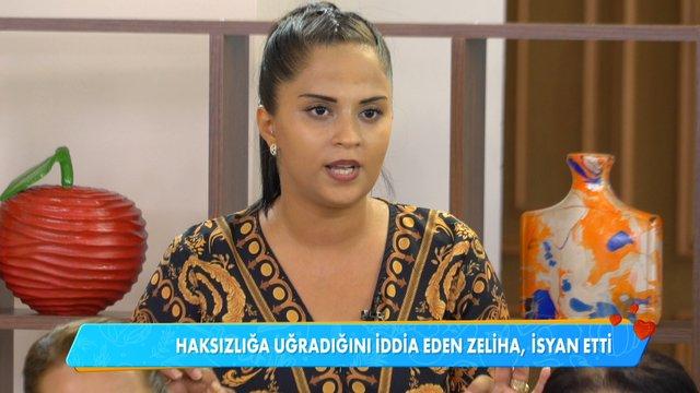 Zeliha Hanım'ın isyanı!