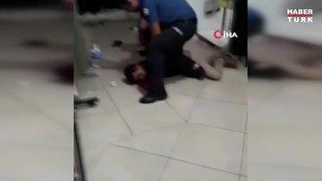 Karısını boğazından bıçaklayan adam vatandaşlar tarafından etkisiz hale getirildi
