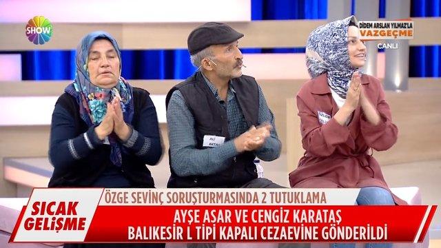 Özge Sevinç'in şüpheli ölümünde 2 tutuklama!