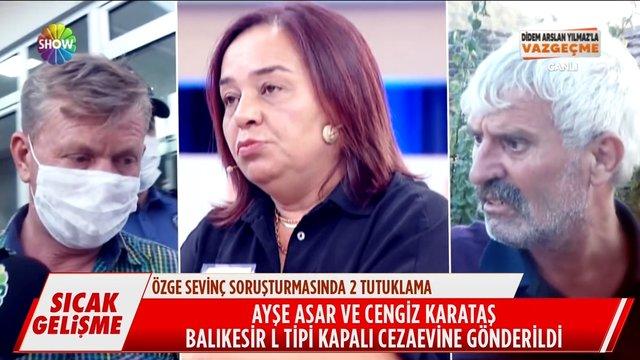 Didem Arslan Yılmaz'la Vazgeçme yayınları ses getirdi, şüpheliler tutuklandı!