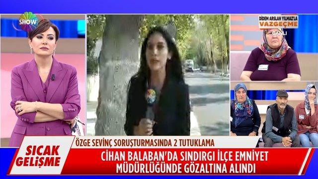 Özge Sevinç'in eski eşi ve çocuğunun babası Cihan Balaban gözaltına alındı!