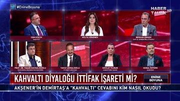 """Enine Boyuna - 11 Eylül 2020 (Akşener'in Demirtaş'a """"kahvaltı"""" cevabını kim nasıl okudu?)"""
