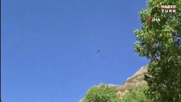 Munzur Vadisi'nde kaybolan 2 kardeşin bulunması için İHA ve helikopterler de destek veriyor