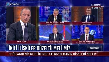 Teke Tek - 16 Eylül 2020 (Doğu Akdeniz geriliminde yalnız olmanın riskleri neler?)