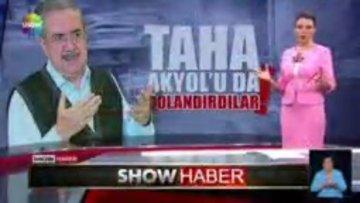 Taha Akyol Show Haber Muhabiri Serhat Alaattinoğlu'na konuştu
