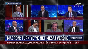 Gerçek Fikri Ne - 19 Eylül 2020 (Fransa, skandal açıklamalarla Türk-Yunan savaşı mı istiyor?)