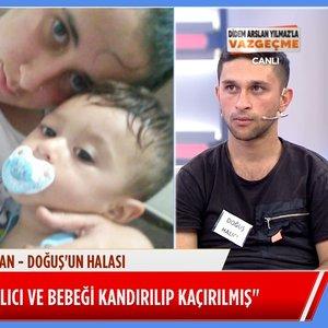 ''Rabia Halıcı ve bebeği kaçırıldı!''