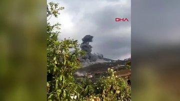 Lübnan'da Hizbullah'a ait evde patlama iddiası