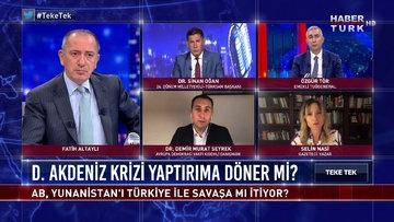 Teke Tek - 21 Eylül 2020 (Doğu Akdeniz krizi yaptırıma döner mi?)