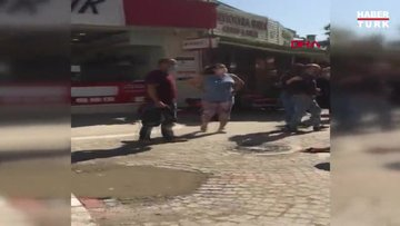 Maske takmayan 2 kardeş, haklarında tutanak tutmak isteyen 2 polisi yaraladı