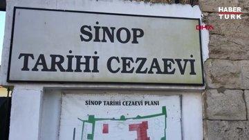 Tarihi Sinop Cezaevi duvarlarında, Roma dönemi kitabeleri çıktı