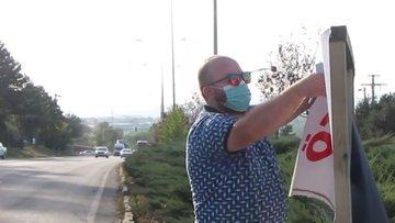 D-100 karayolu Ankara istikameti kapanma tehlikesi ile karşı karşıya