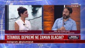 Burası Haftasonu - 26 Eylül 2020 (Büyük İstanbul depremi ne zaman olacak?)
