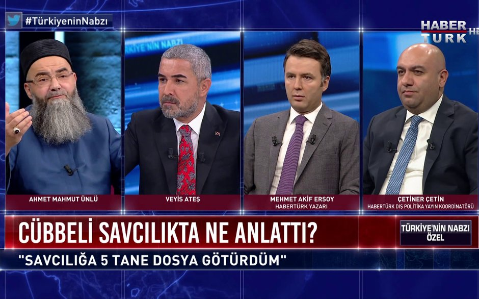 Türkiye'nin Nabzı Özel - 26 Eylül 2020 (Cübbeli Ahmet Hoca o iddiaların temelini Habertürk'te anlattı)
