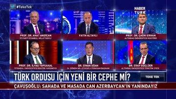 Teke Tek - 29 Eylül 2020 (Azerbaycan-Ermenistan gerilimi Türk ordusu için yeni bir cephe mi?)