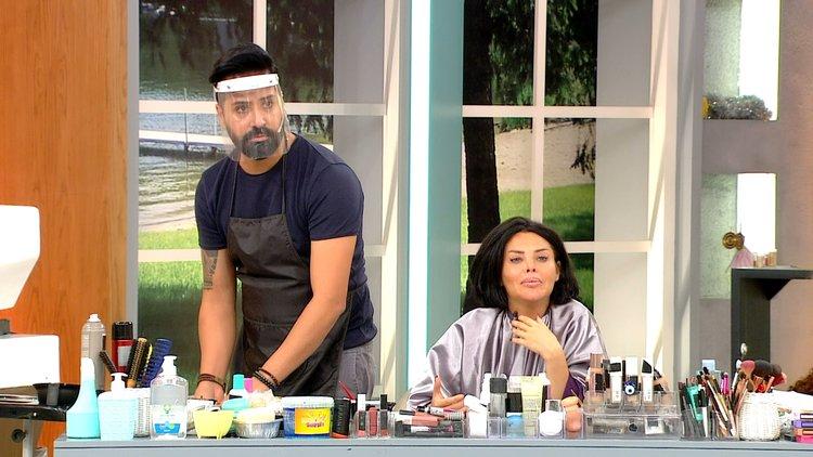 Pınar'ın saç kesim gerginliği