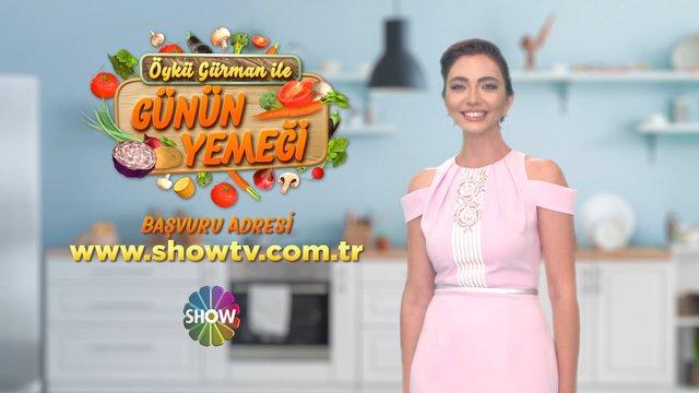 Öykü Gürman ile Günün Yemeği 12 Ekim'den itibaren Show TV'de!