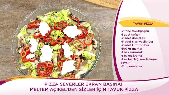 Tavuk Pizza