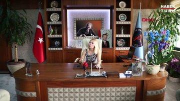 Rektör Özkan Başkan Böcek'in akciğerini toparlamaya çalışıyoruz