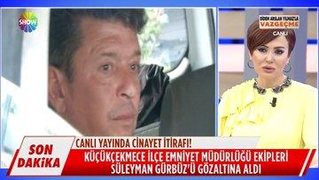Süleyman Gürbüz canlı yayında gözaltına alındı!
