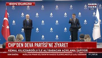 Kılıçdaroğlu ve Babacan'dan açıklamalar