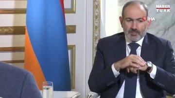 Paşinyan, Rus kanalına röportaj verirken elektriksiz kaldı